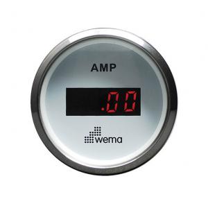 Wema  Amp.meter sæt +/- 150 Amp. Hvidt RF