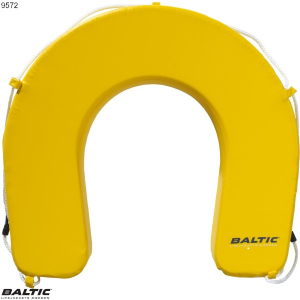 Hestesko betræk Gul BALTIC 9572