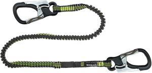 Spinlock Letvægts Livline 2 hager, 2 m elastikline