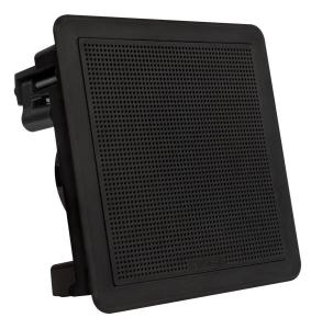 Fusion Flush Højttalersæt 6.5 firkantet Sort