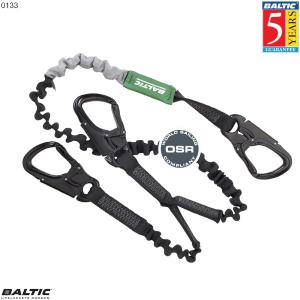 Livline Supreme 3 krog elastisk Sort BALTIC 0133