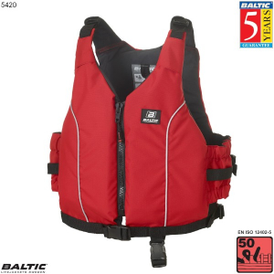 Radial jolle / kajak vest-Rød-Barn-55-78 cm. bryst