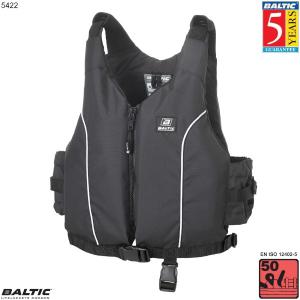 Radial jolle / kajak vest-Sort-Barn-55-78 cm. bryst